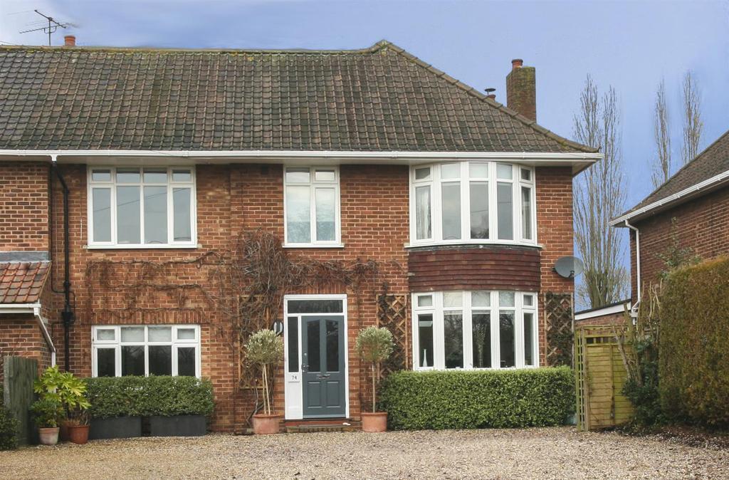 4 Bedrooms Semi Detached House for sale in Old Barrack Road, Woodbridge