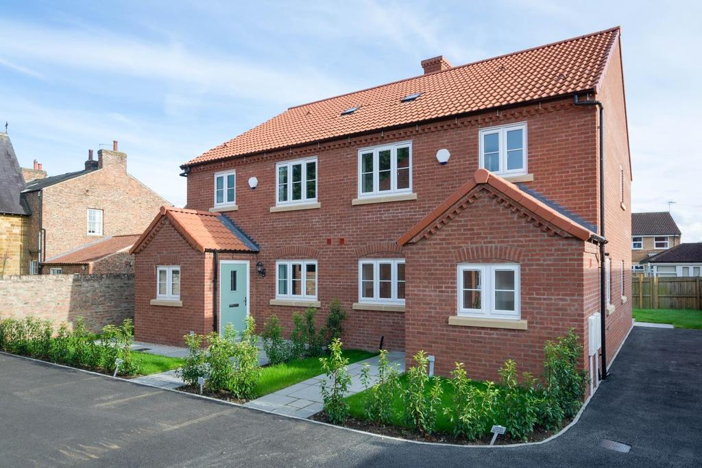 3 Bedrooms Semi Detached House for sale in 3 Shepherds Mews, Street, Easingwold
