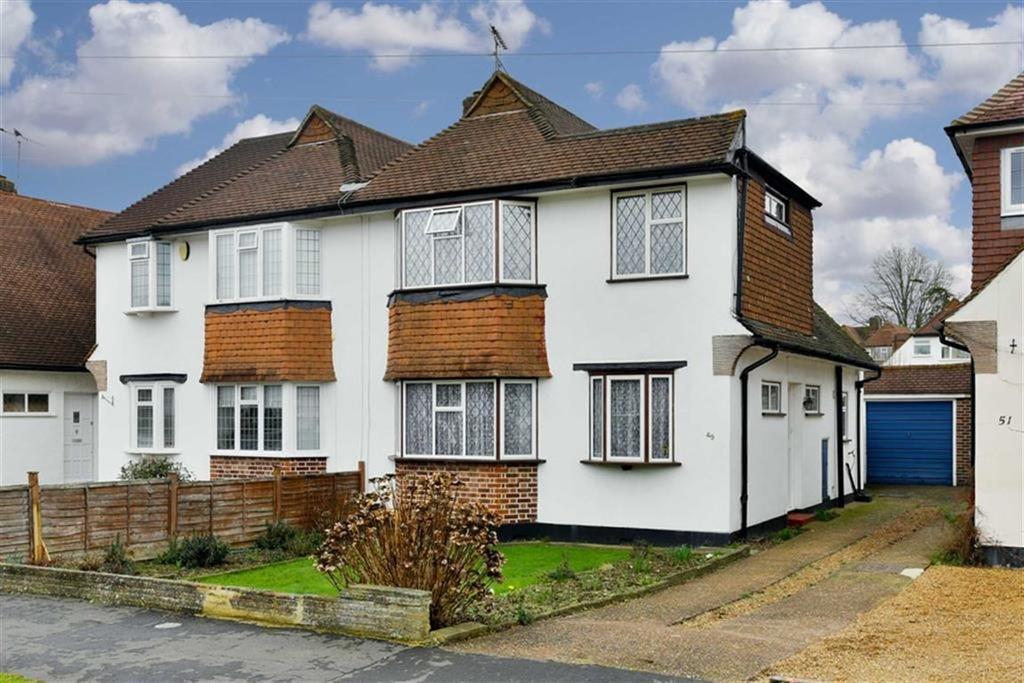 3 Bedrooms Semi Detached House for sale in Eastdean Avenue, Epsom, Surrey
