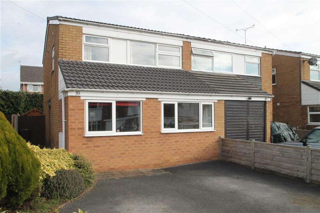 3 Bedrooms Semi Detached House for sale in Bridgewater Drive, Vicars Cross