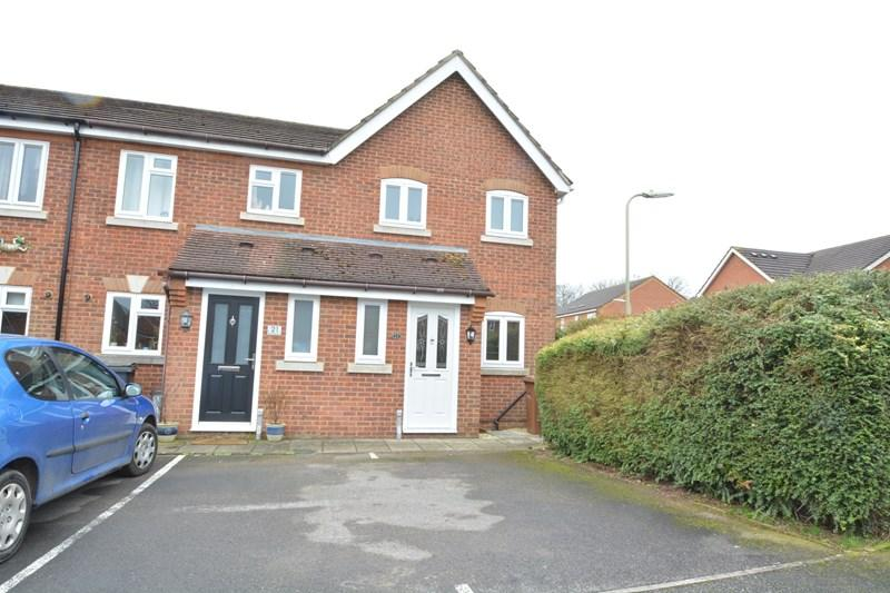 2 Bedrooms End Of Terrace House for sale in Barnfield Rise, Andover