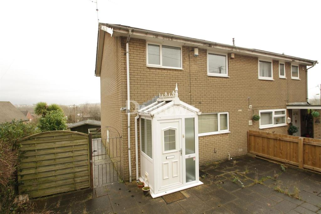 2 Bedrooms Semi Detached House for sale in Wern Road, Sebastapol