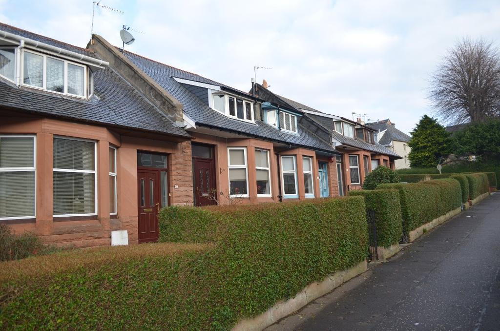 2 Bedrooms Terraced House for sale in Ellangowan Road, Shawlands, Glasgow, G41 3SZ