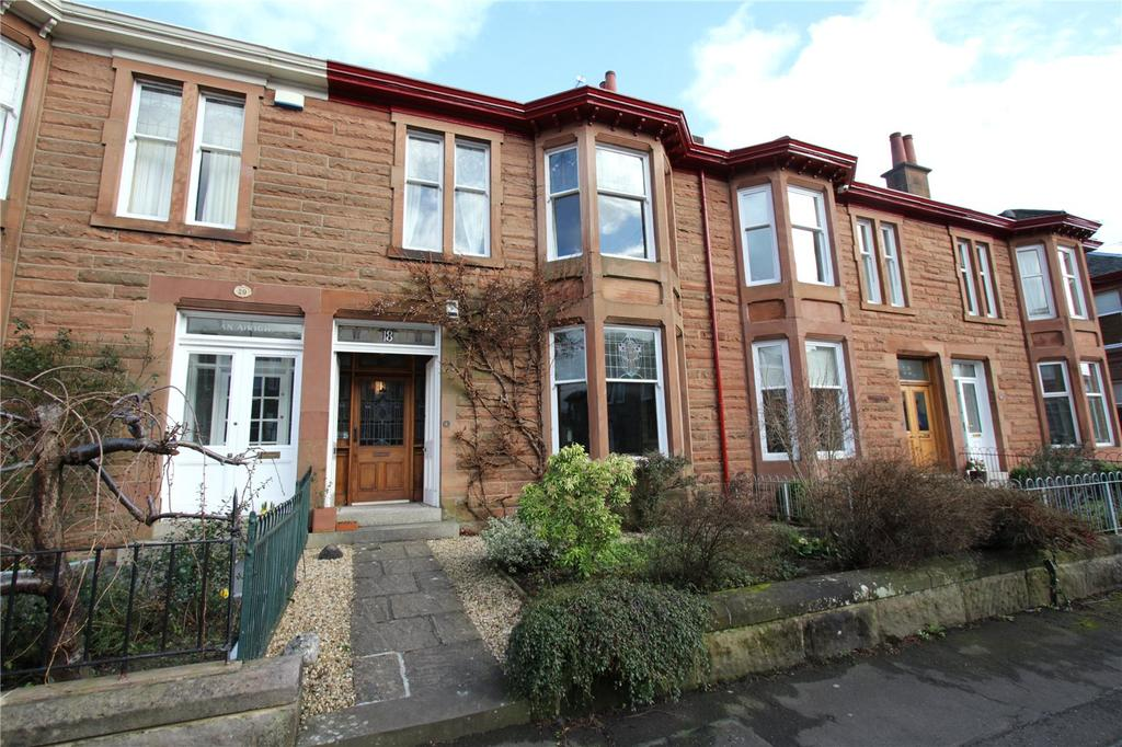 4 Bedrooms Terraced House for sale in Borden Road, Jordanhill, Glasgow