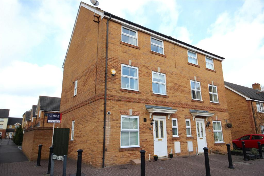 3 Bedrooms Semi Detached House for sale in Snowberry Close, Bradley Stoke, Bristol, BS32