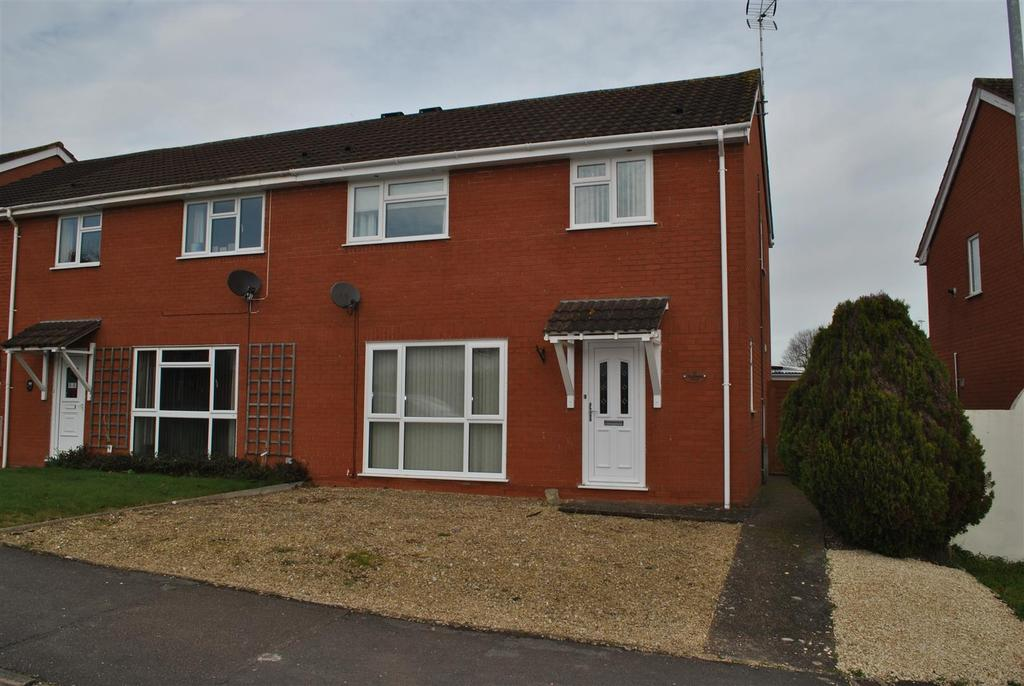 3 Bedrooms Semi Detached House for sale in Blackdown View, Norton Fitzwarren, Taunton