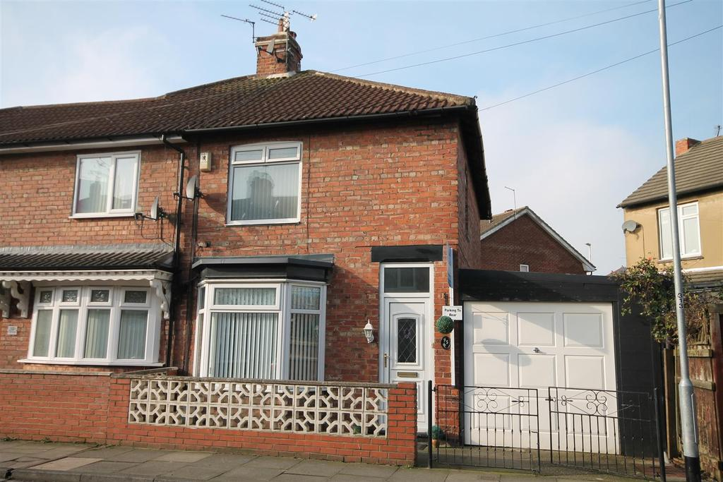2 Bedrooms Semi Detached House for sale in Bowman Street, Darlington