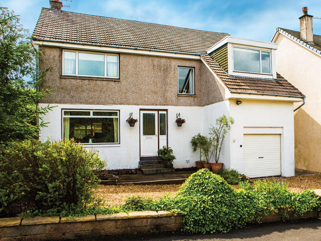 4 Bedrooms Detached House for sale in 41 Churchill Road, Kilmacolm, PA13 4NA