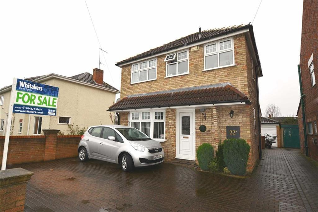 3 Bedrooms Detached House for sale in Hawthorne Avenue, Willerby, East Riding Of Yorkshire