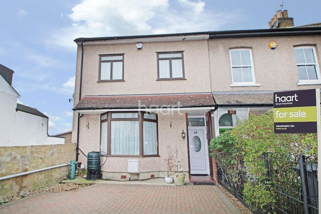 3 Bedrooms End Of Terrace House for sale in Colworth Road, Leytonstone