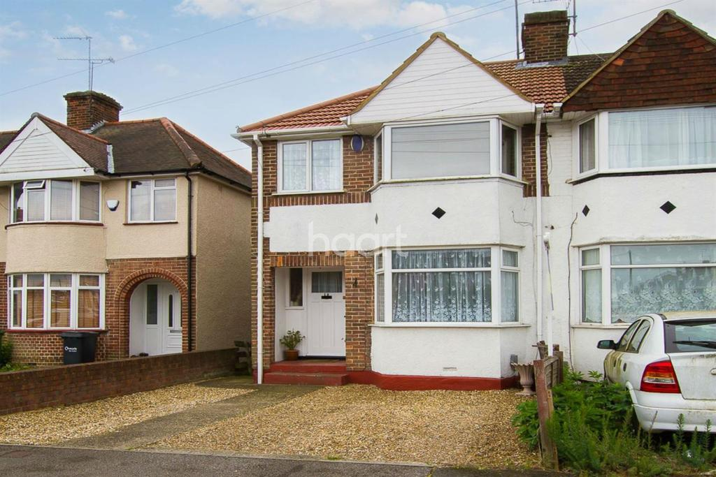 3 Bedrooms Semi Detached House for sale in Willow Way, Luton