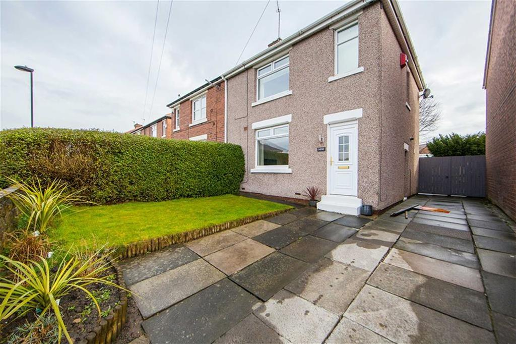 2 Bedrooms Semi Detached House for sale in Prospect Avenue, Wallsend, Tyne And Wear, NE28
