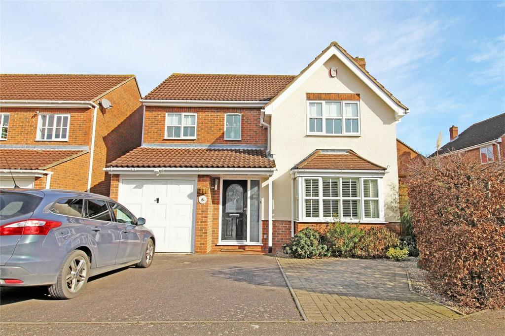 4 Bedrooms Detached House for sale in Webb Close, Letchworth Garden City, Hertfordshire