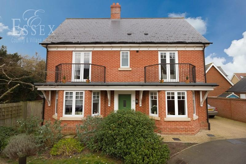 4 Bedrooms Detached House for sale in Pattinson Walk, Colchester