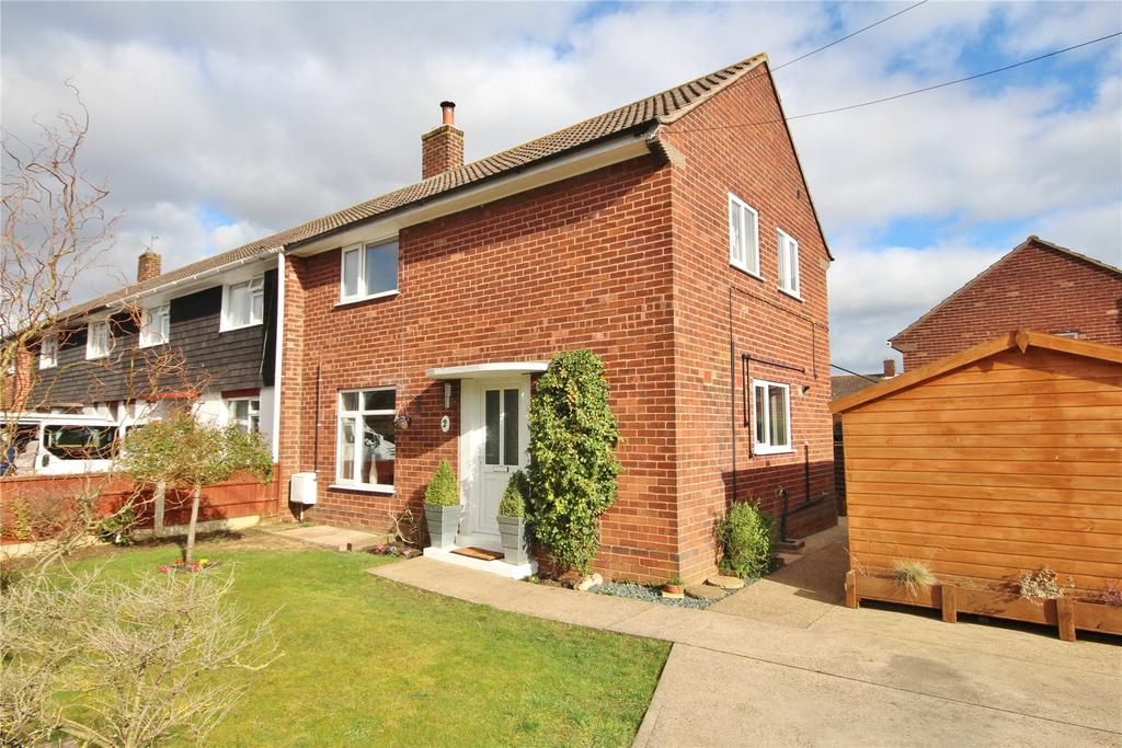 3 Bedrooms End Of Terrace House for sale in Swan Close, Dunholme, LN2