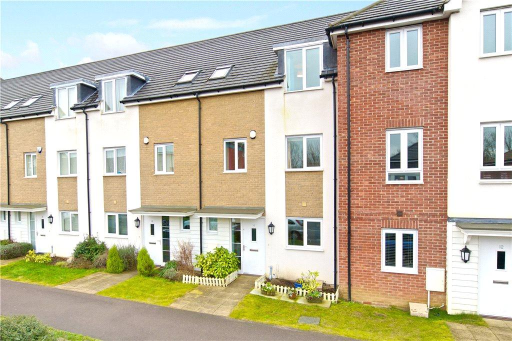 4 Bedrooms Terraced House for sale in Top Fair Furlong, Redhouse Park, Milton Keynes, Buckinghamshire