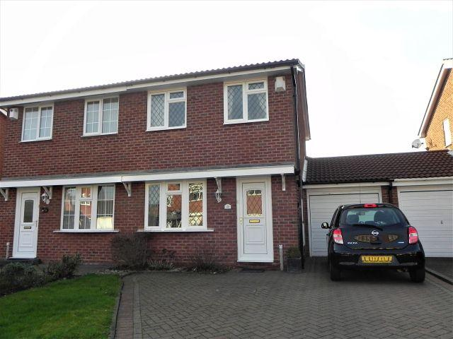 2 Bedrooms Semi Detached House for sale in Turchill Drive,Sutton Coldfield,West Midlands