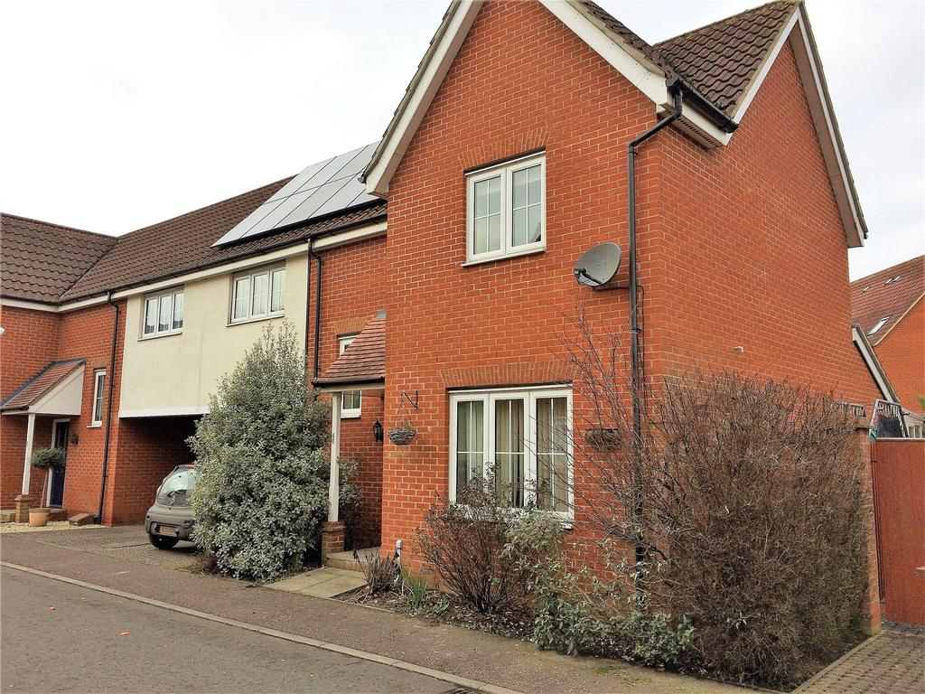 4 Bedrooms Semi Detached House for sale in Windsor Park Gardens, Sprowston, Norwich, Norfolk