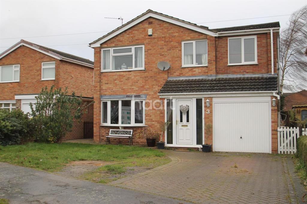 5 Bedrooms Detached House for sale in Leys Close, Barrowby, Grantham, NG32 1TQ