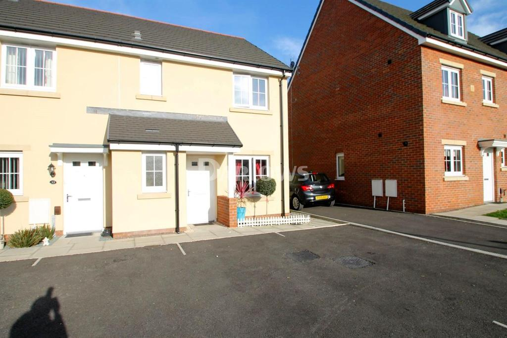 3 Bedrooms End Of Terrace House for sale in Parc Y Dyffryn, Rhydyfelin