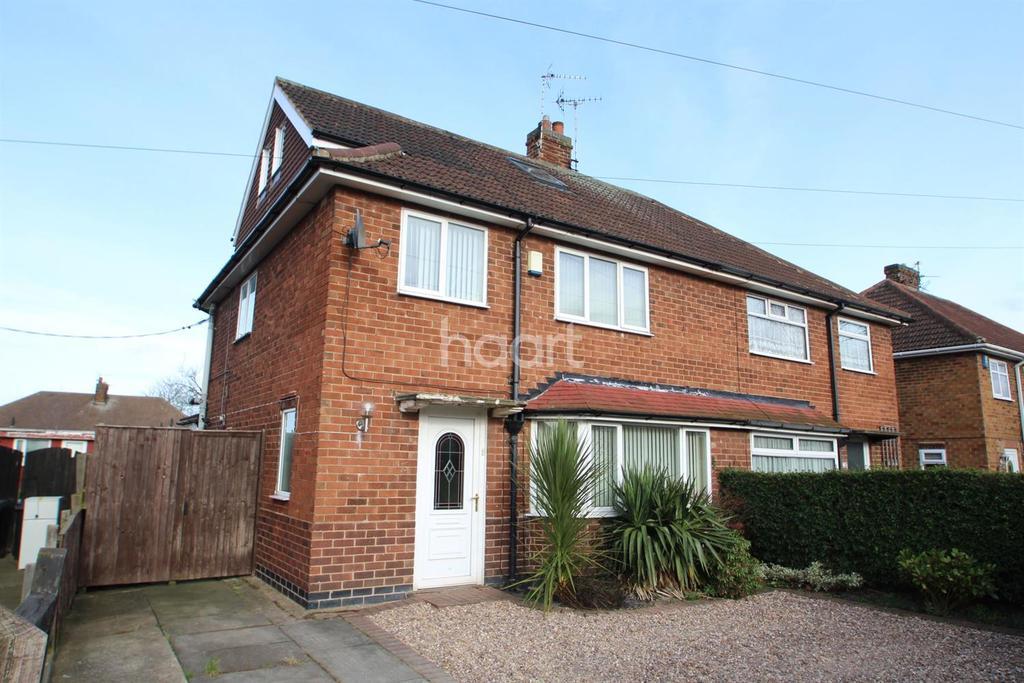 3 Bedrooms Semi Detached House for sale in Lee Road ,Calverton, Nottingham