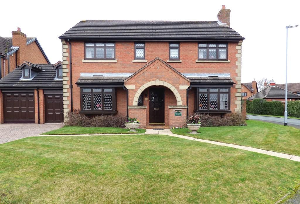 4 Bedrooms Detached House for sale in Heritage Court, Lichfield