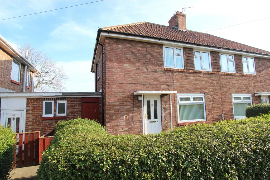 2 Bedrooms Semi Detached House for sale in Carisbrooke Avenue, Middlesbrough