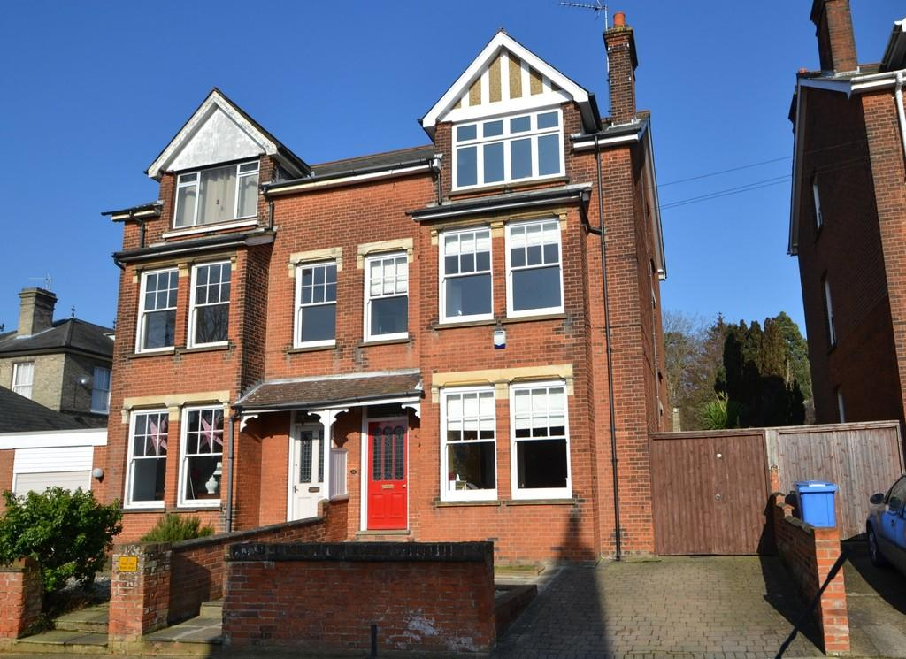 5 Bedrooms Semi Detached House for sale in St. Edmunds Road, Ipswich, Suffolk