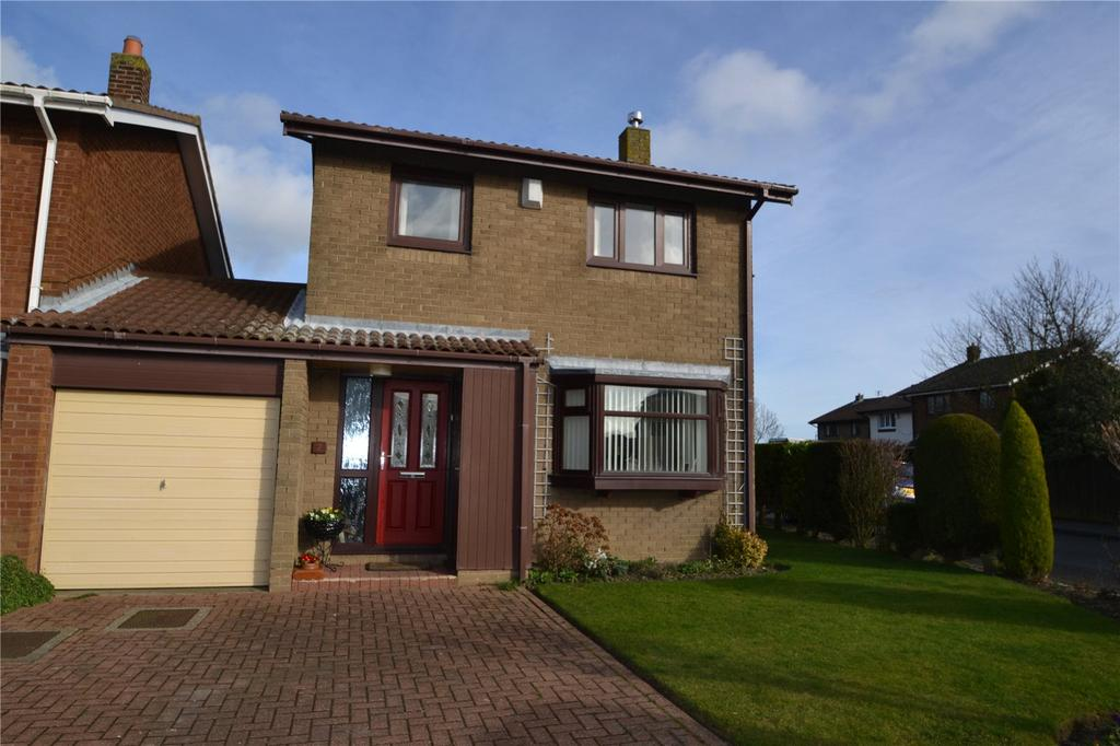 3 Bedrooms Link Detached House for sale in Acer Drive, Haswell, Co.Durham, DH6
