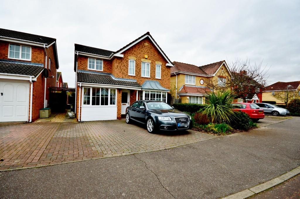 4 Bedrooms Detached House for sale in Asquith Drive, Highwoods