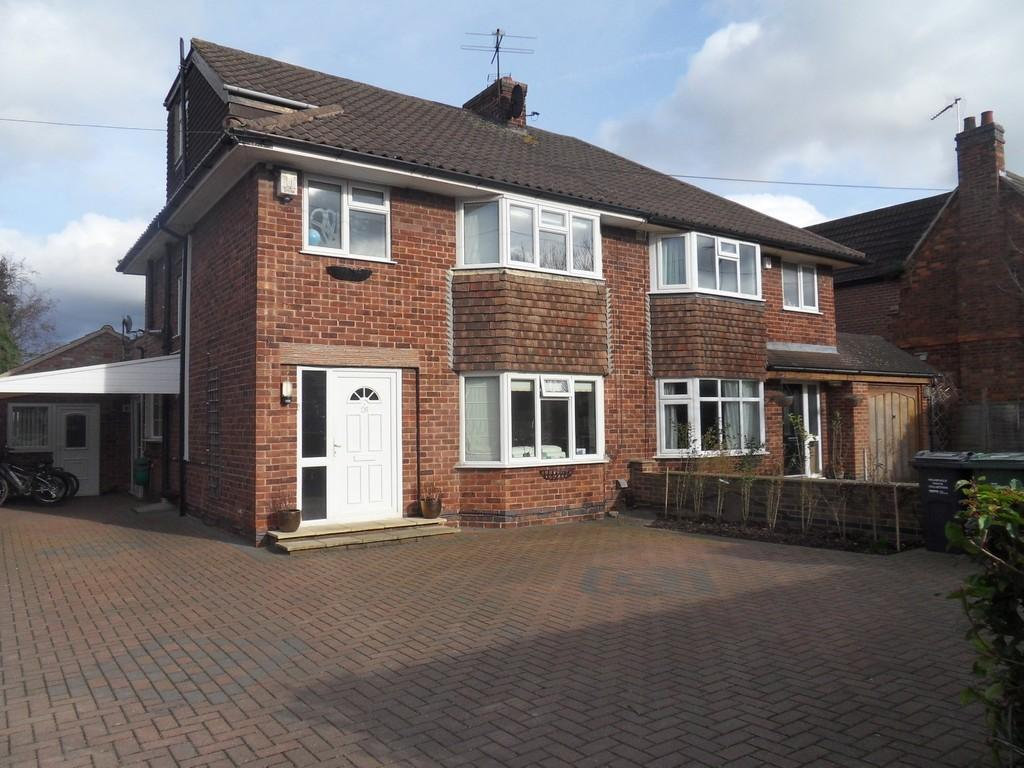 4 Bedrooms Semi Detached House for sale in Valley Road, Loughborough