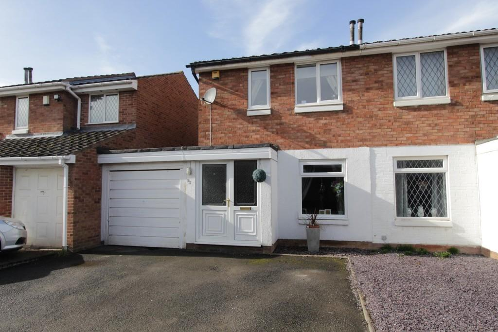 2 Bedrooms Semi Detached House for sale in Brambling, Wilnecote