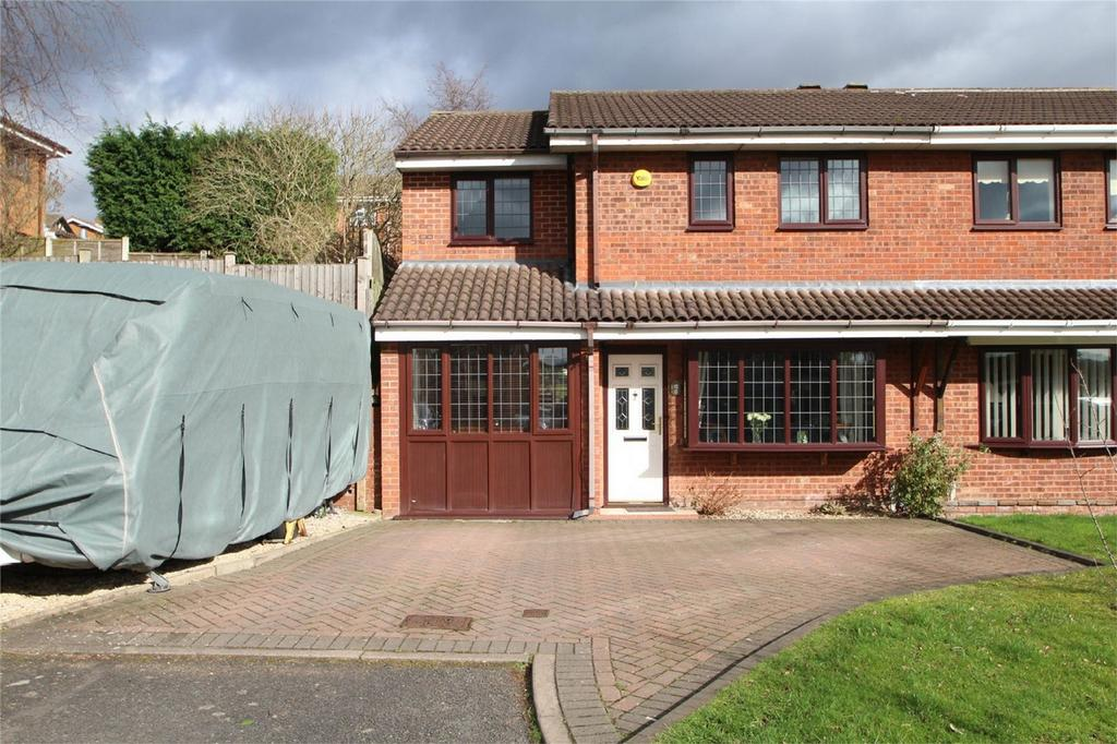 4 Bedrooms Semi Detached House for sale in Stow Drive, Amblecote, BRIERLEY HILL
