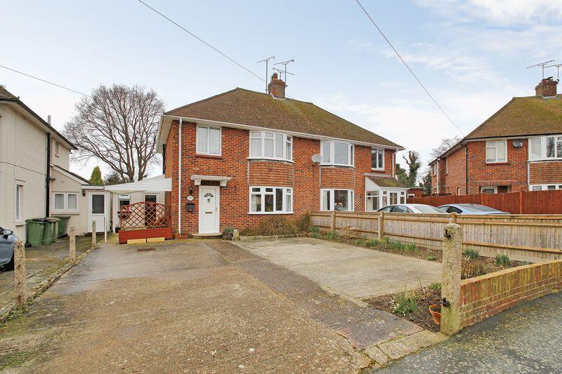 3 Bedrooms Semi Detached House for sale in Bennetts Road, Horsham