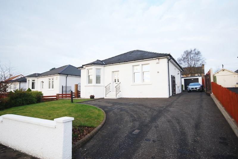 3 Bedrooms Detached Bungalow for sale in 52 Glasgow Road, Kilmarnock, KA3 1TX