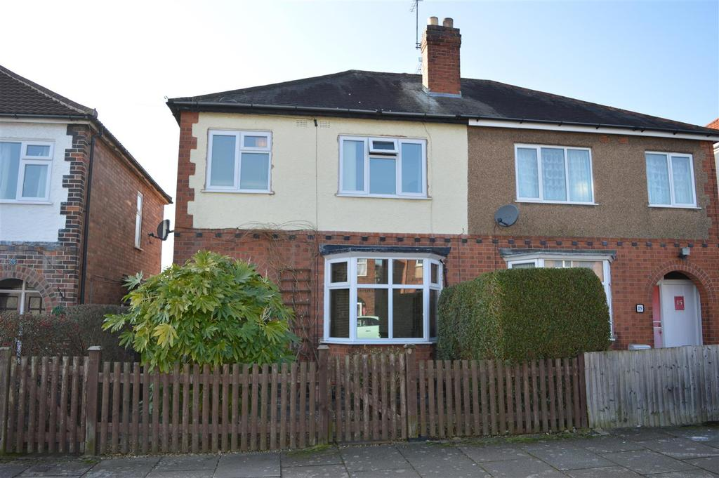 3 Bedrooms Semi Detached House for sale in Raeburn Road, Leicester