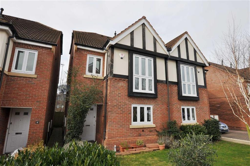 4 Bedrooms Semi Detached House for sale in Burman Close, Leamington Spa