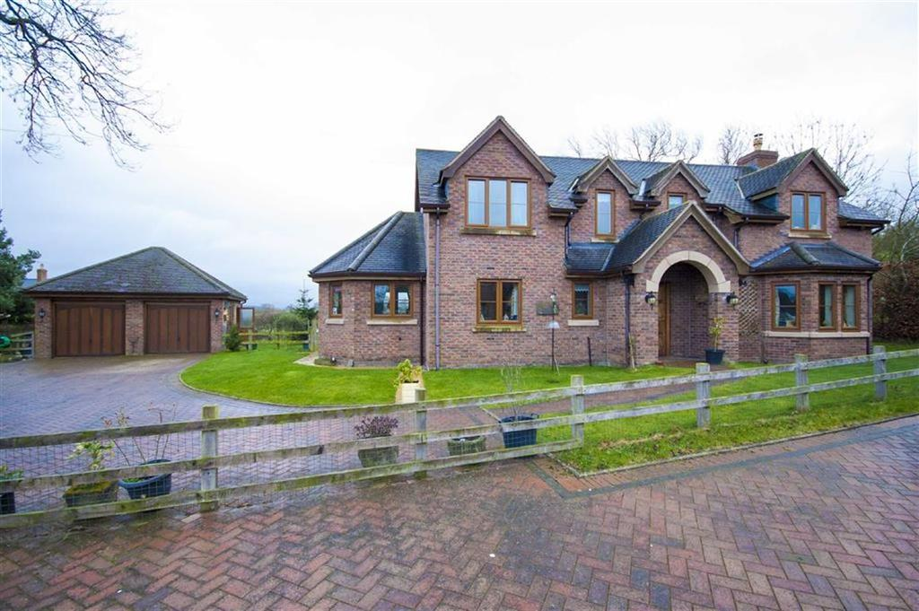 4 Bedrooms Detached House for sale in Crew Green, Shrewsbury, Shropshire