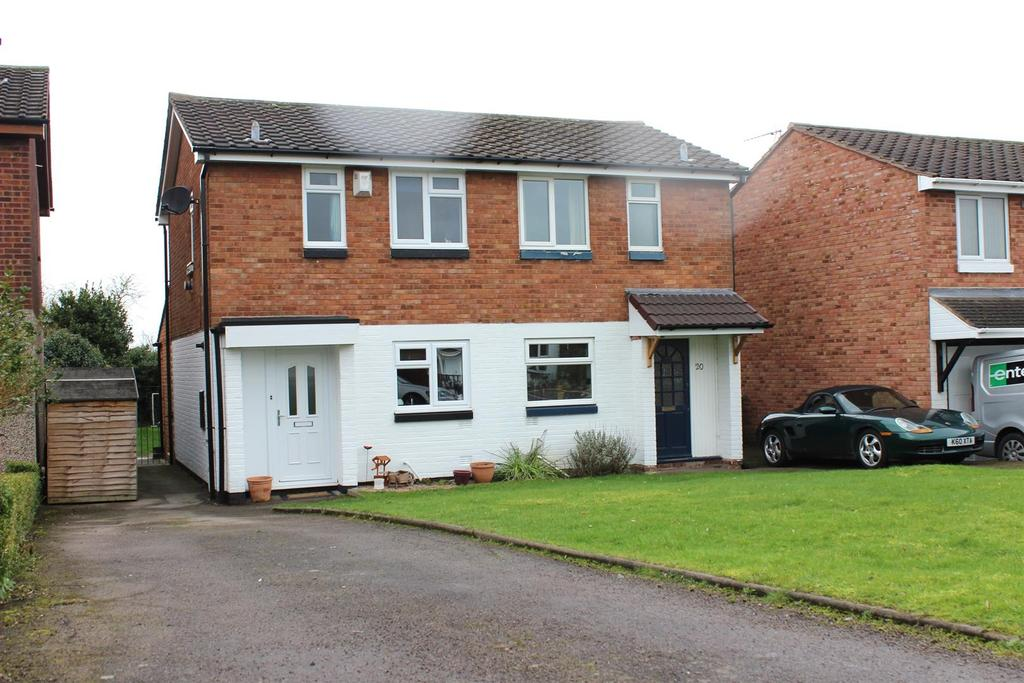 2 Bedrooms Semi Detached House for sale in Curlew, Wilnecote, Tamworth