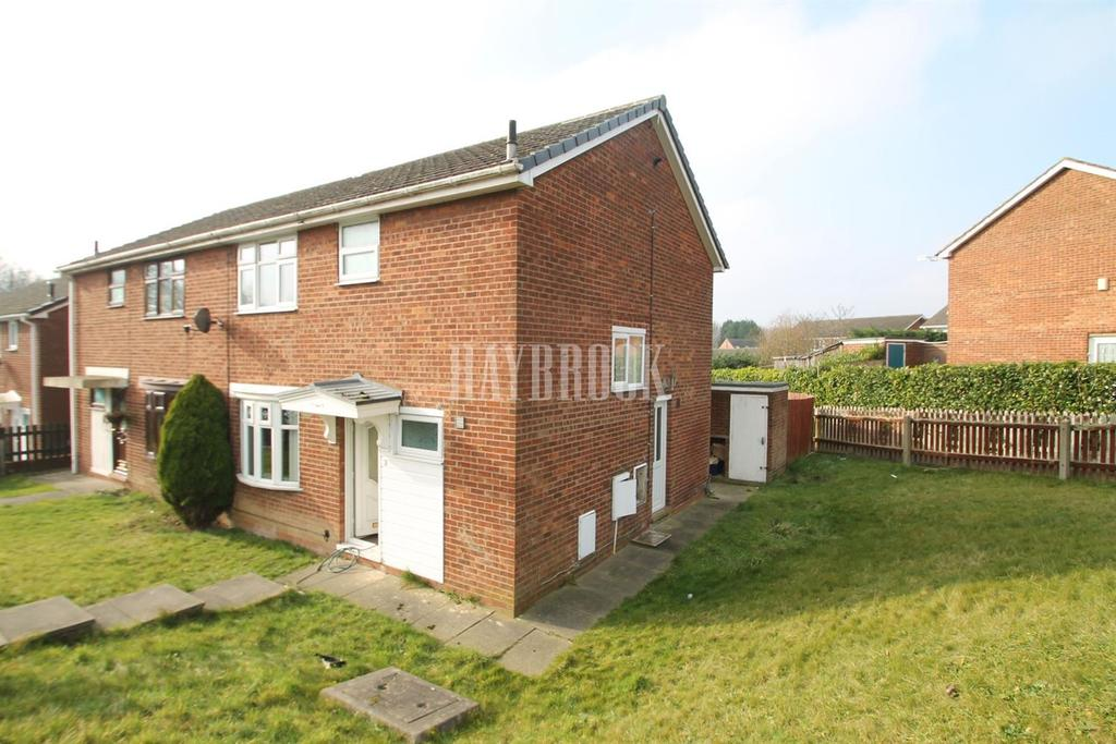 3 Bedrooms Semi Detached House for sale in Foxcote lea, Thrybergh, Rotherham