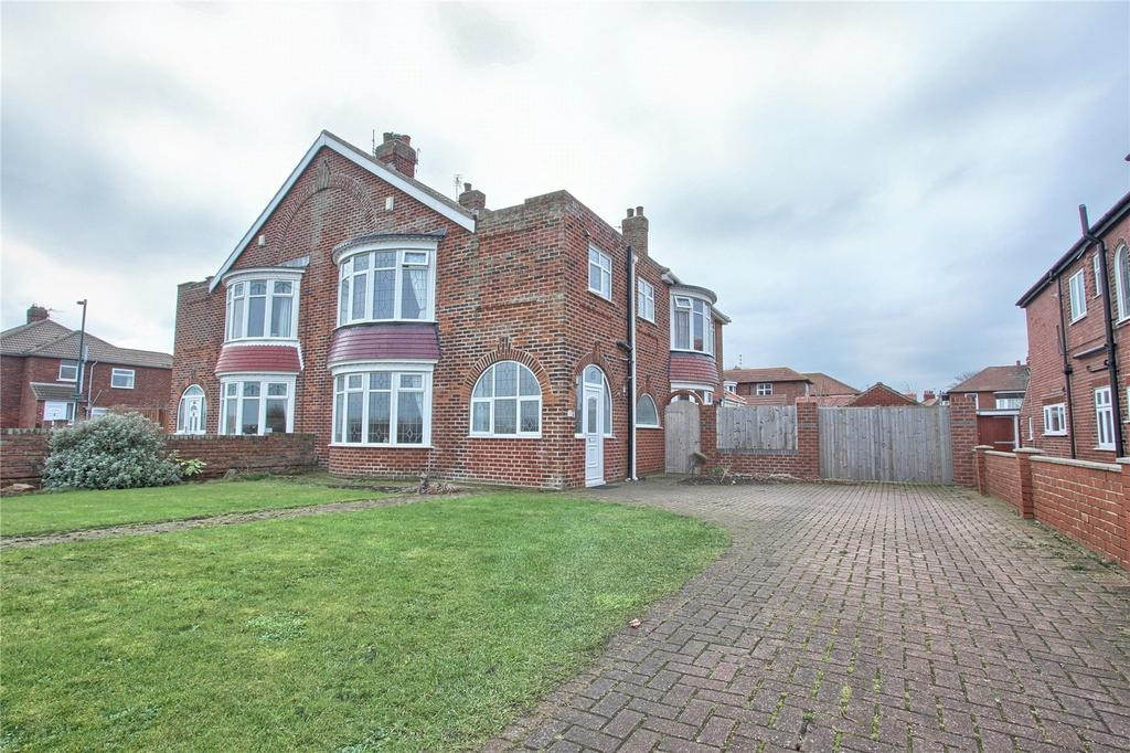 4 Bedrooms Semi Detached House for sale in Coast Road, Redcar