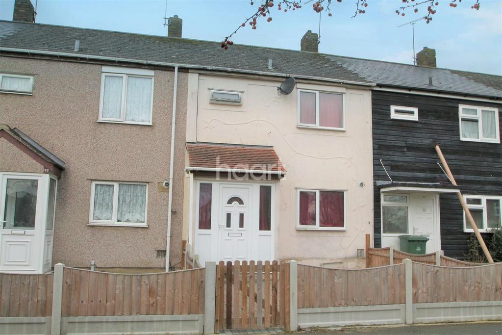 3 Bedrooms Terraced House for sale in Great Mistley, Basildon