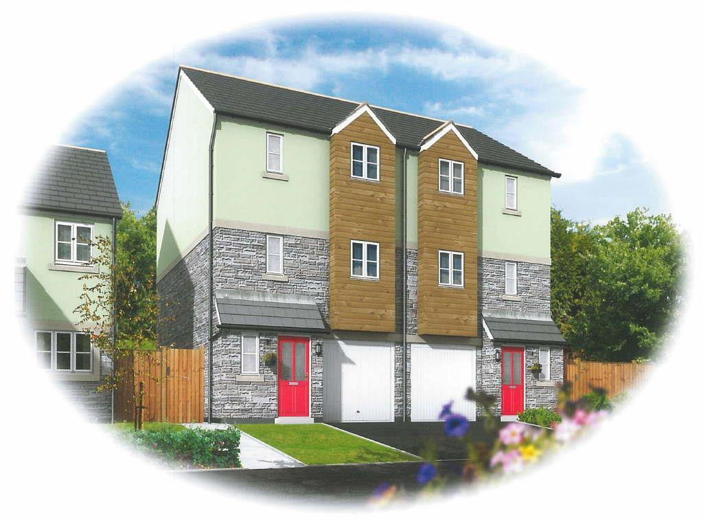 3 Bedrooms Semi Detached House for sale in Swanvale, Falmouth