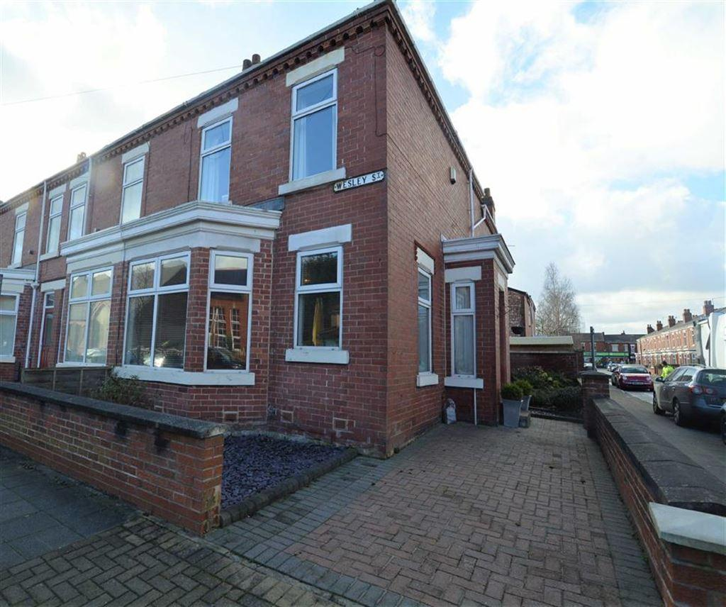 3 Bedrooms End Of Terrace House for sale in Burleigh Road, STRETFORD