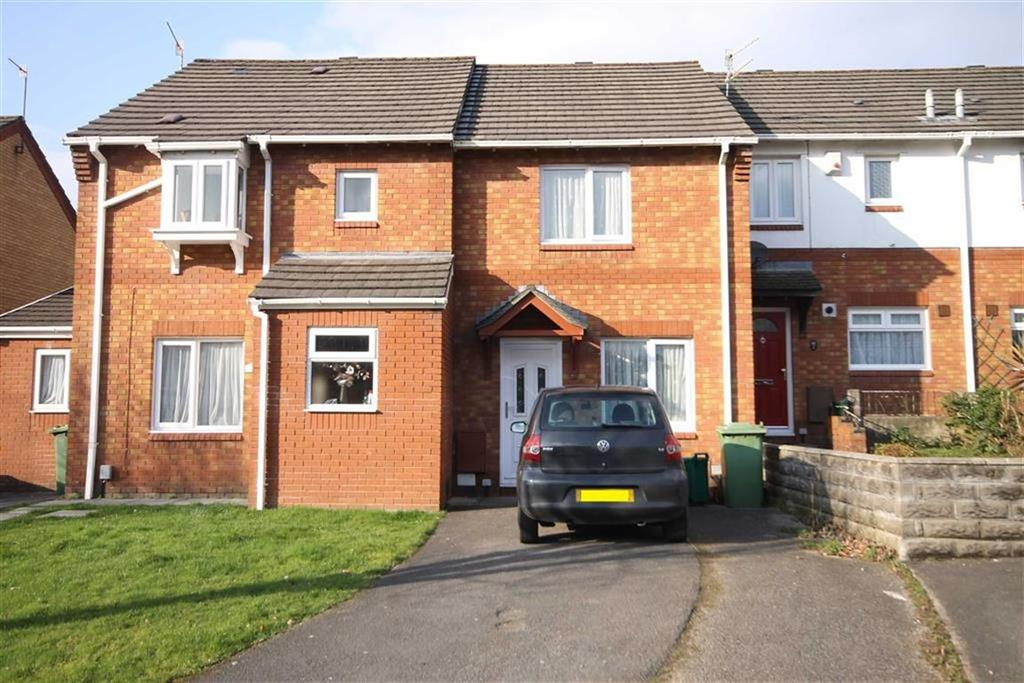 2 Bedrooms Terraced House for sale in Clos Aneurin, Pontypridd, CF37