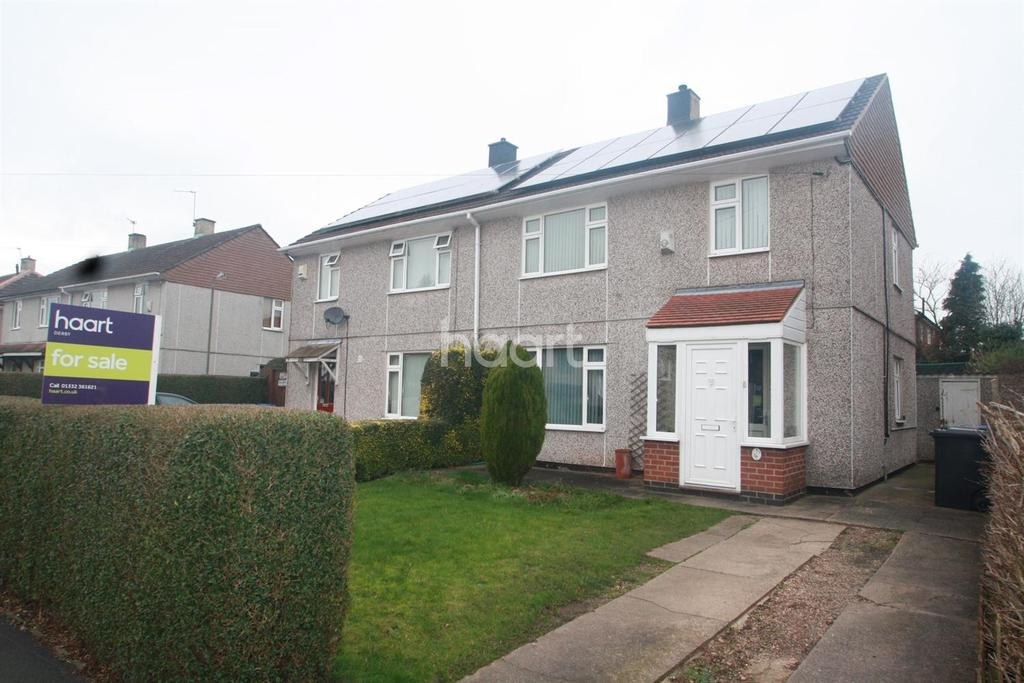3 Bedrooms Semi Detached House for sale in Winster Road, Derby