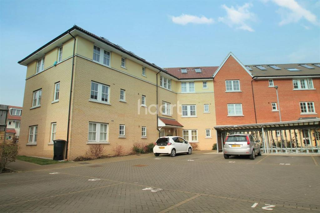2 Bedrooms Flat for sale in Cavell Court, Basildon