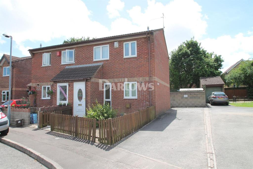 3 Bedrooms Semi Detached House for sale in Chester Close, St Mellons, Cardiff