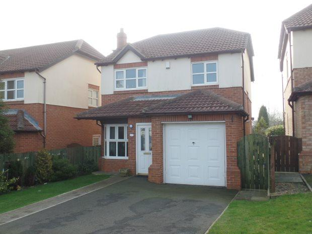3 Bedrooms Detached House for sale in BROCKWELL, BLACKHALL, PETERLEE AREA VILLAGES