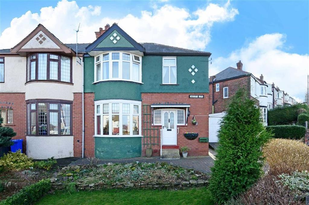 3 Bedrooms Semi Detached House for sale in 1, Renshaw Road, Greystones, Sheffield, S11